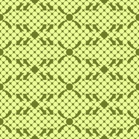 multidirectional: Abstract seamless pattern in green colors. Endless contrasting geometric tracery. Vector illustration for various creative projects Illustration