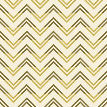 flexure: Modern seamless pattern of varicolored horizontal zigzag. Beautiful zig zag print in pleasant warm colors. Vector illustration for stylish creative design Illustration