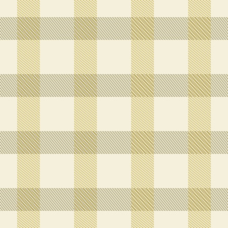 pleasant: Elegant seamless checkered pattern in pleasant warm colors. Thin diagonal lines form plaid print. Large checks sand colored shades. Vector illustration for fabric, wrapping paper and other