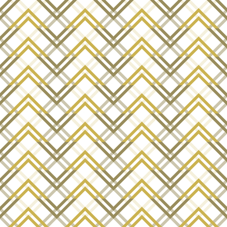 flexure: Abstract seamless geometric pattern with varicolored zigzag elements. Endless zig zag print in white and shades of sand colors. Modern tracery for stylish creative design. Vector illustration Illustration