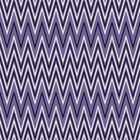 flexure: Elegant seamless pattern of horizontal zigzag in white and purple colors. violet continuous zig zag print. illustration for various creative projects Illustration