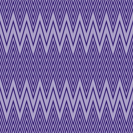 flexure: Elegant seamless pattern of horizontal zigzag in contrasting shades of purple color. Violet continuous zig zag print. illustration for various creative projects