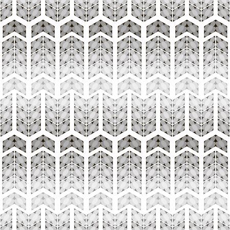 inscribed: Abstract seamless black and white pattern. Simple flowers of circles inscribed in quadrangles. Cute monochrome print with illusion of volume. illustration for fabric, paper and other Illustration