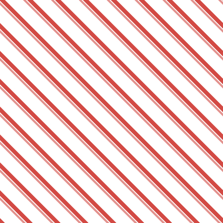 varying: Abstract seamless striped pattern of two diagonal parallel varying thickness lines. Endless geometric print in white, red, pink colors. Beautiful contrasting background. Vector illustration Illustration