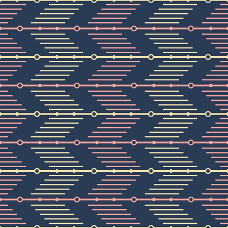 Seamless geometric pattern of vertical striped zigzag. Modern elegant vector print of zig zag lines
