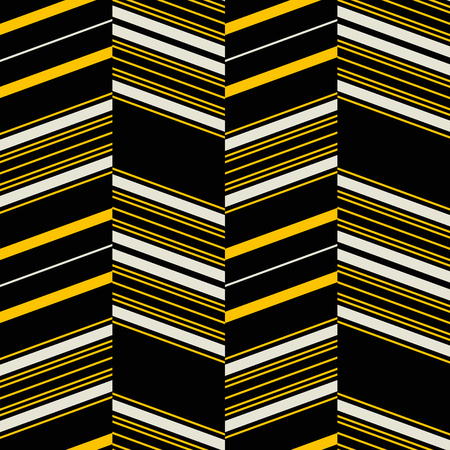 Seamless geometric pattern. Retro fashion textile print