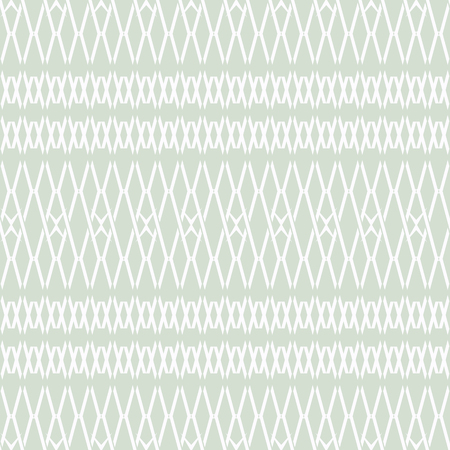 Seamless abstract geometric pattern of multiply X shapes forming peculiar complex lattice, pastel colors