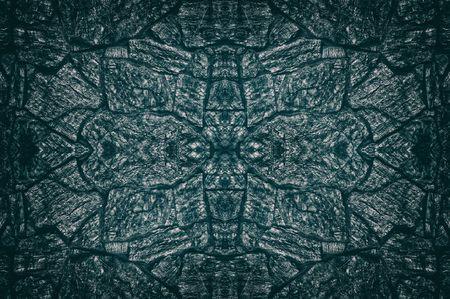 Spacious dark blue repetitive texture of granite stonework. Whimsical pattern stone masonry background