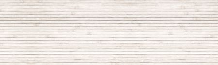 Wide natural bamboo background. Light wooden surface panoramic texture Stock Photo