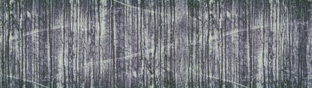 Wide grunge retro background. Old stained and scratched concrete wall panorama. Faded vintage texture Фото со стока