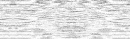 Old cracked white painted solid wooden surface wide texture. Whitewashed wood panoramic rustic vintage background Фото со стока