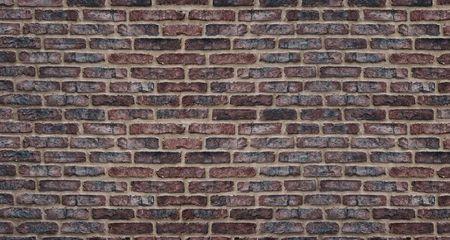 Old red brick wall high resolution texture. Rough brickwork retro background