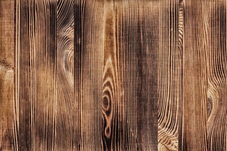 Natural wood texture. Brown wooden table surface background Фото со стока - 132024216