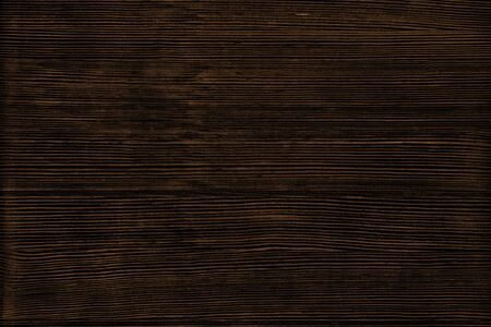Natural wood texture. Dark brown wooden surface background Фото со стока - 132024966