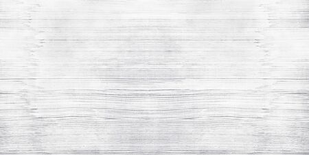 Wide white old shabby wood texture. Light gray whitewashed wooden backdrop. Widescreen vintage background Фото со стока - 132024175