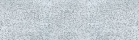 Old scratched steel metal wide texture. Silvery shabby panoramic metallic surface. Light gray widescreen background Фото со стока - 132024030
