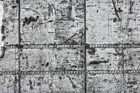 Old concrete wall texture. Rough dirty gray cement surface grunge industrial background Standard-Bild