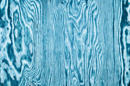 Blue wood pattern texture. Plywood wooden background