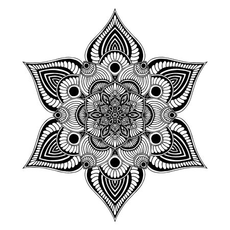 Mandalas Round for coloring  book. Decorative round ornaments. Unusual flower shape. Oriental vector, Anti-stress therapy patterns. Weave design elements. Illustration