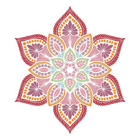 Mandalas Round for coloring  book. Decorative round ornaments. Unusual flower shape. Oriental vector, Anti-stress therapy patterns. Weave design elements. Ilustração