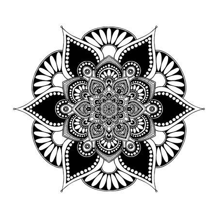 Mandalas Round for coloring  book. Decorative round ornaments. Unusual flower shape. Oriental vector, Anti-stress therapy patterns.