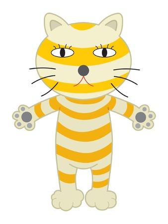 civet cat: Cat