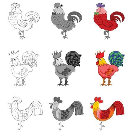 farmyard: chicken