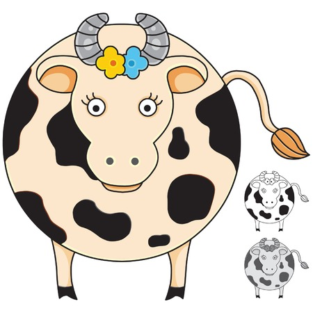 cow Stock Vector - 2331798