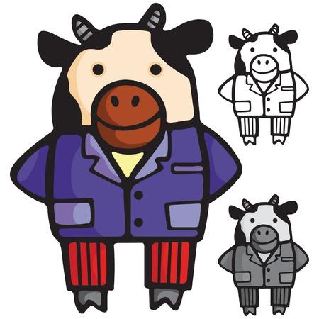 cow Stock Vector - 2336392