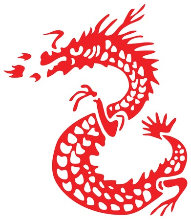 chinoiserie: dragon