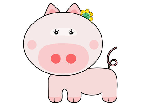 Pig Stock Vector - 2331867
