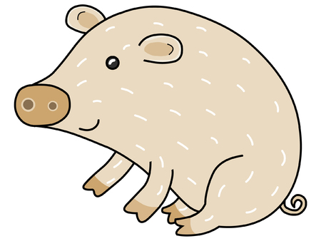 Pig Stock Vector - 2331865