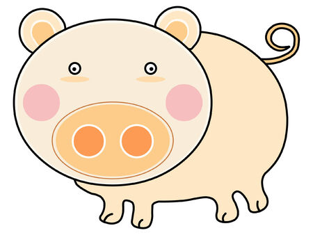Pig Stock Vector - 2331861