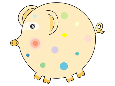 Pig Stock Vector - 2332041