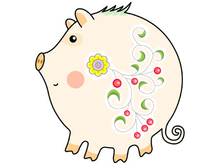 Pig Stock Vector - 2332040