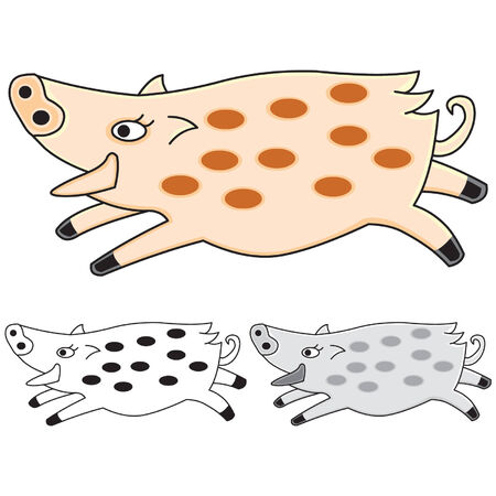 Pig Stock Vector - 2331860