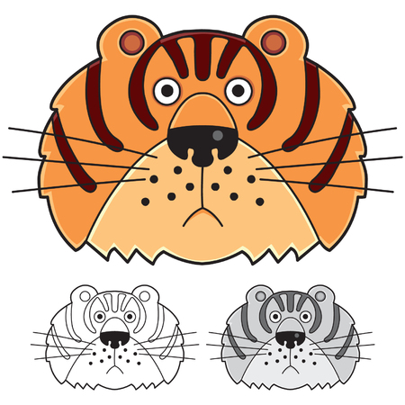 tigress: Tiger  Vectores