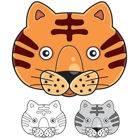 undomesticated: tiger