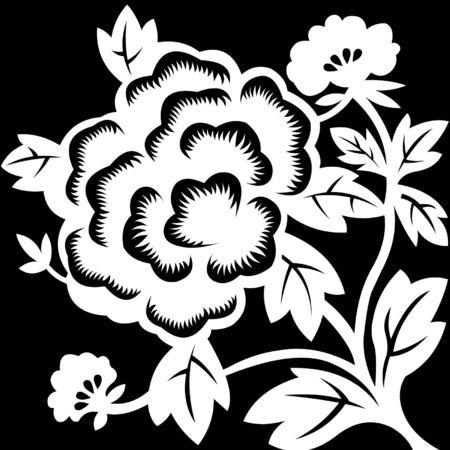 dingbats: Floral Pattern Illustration