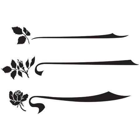 dingbats: Flower silhouette