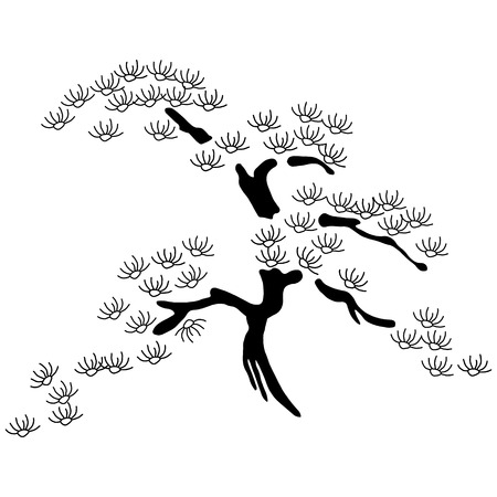 fengshui: cherry blossom  Illustration
