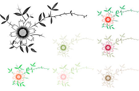 florist: Floral Decorative Frame