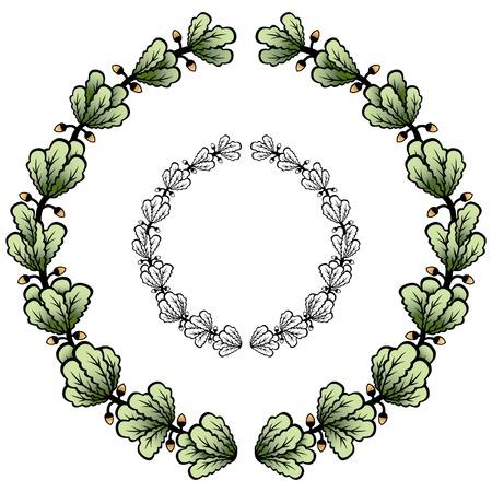 vectorized: Vectorizado corona de laurel