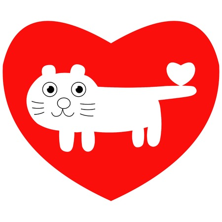 Valentine animal Stock Vector - 2367813