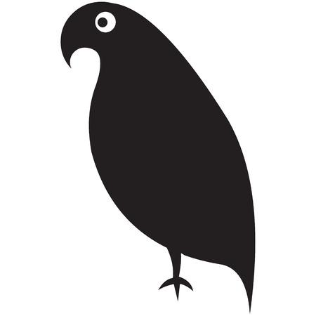 oiseau illustration vectorielle