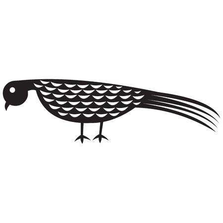 blackbird: ptaków vector illustration Ilustracja