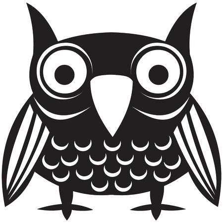blackbird: ilustracji wektorowych ptak  Ilustracja