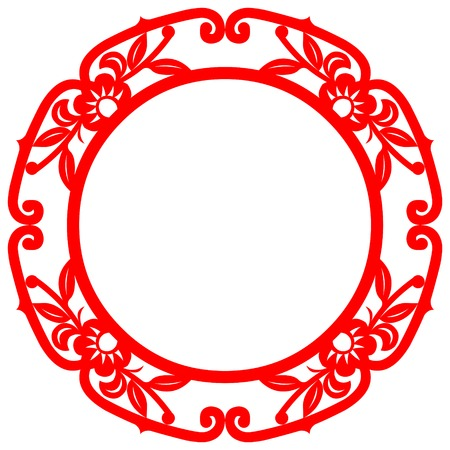 oriental ethnicity: Chinese Art frame Elements