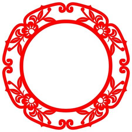Chinese Kunst frame Elementen