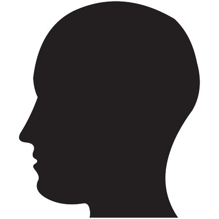 Human Head Stock Vector - 2367890